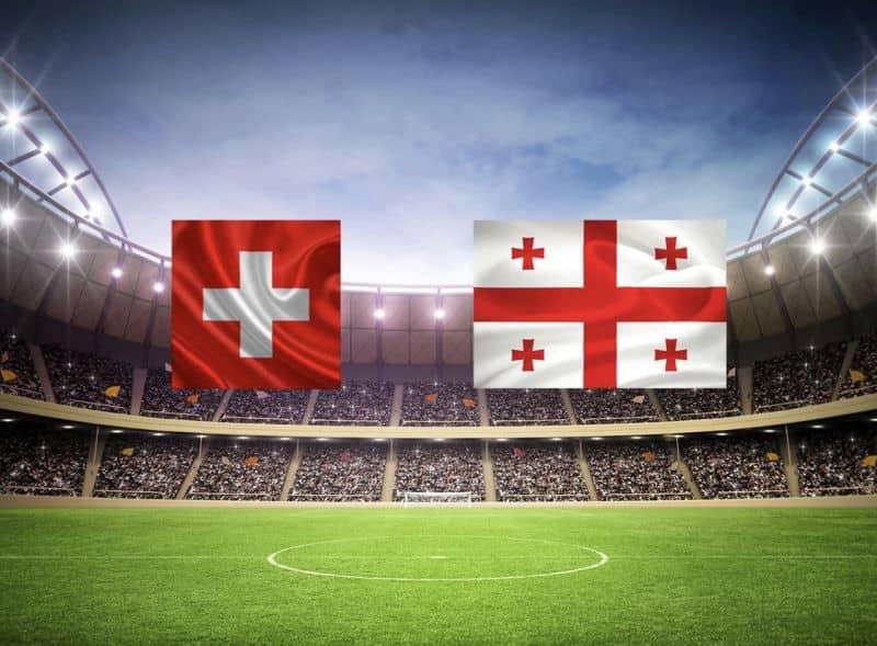 Прогноз на матч Грузия – Швейцария – 23.03.2019, 17:00