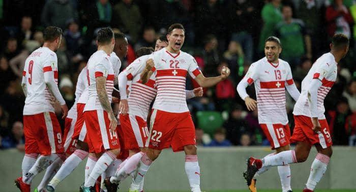 Прогноз на матч Швейцария – Дания – 26.03.2019, 22:45