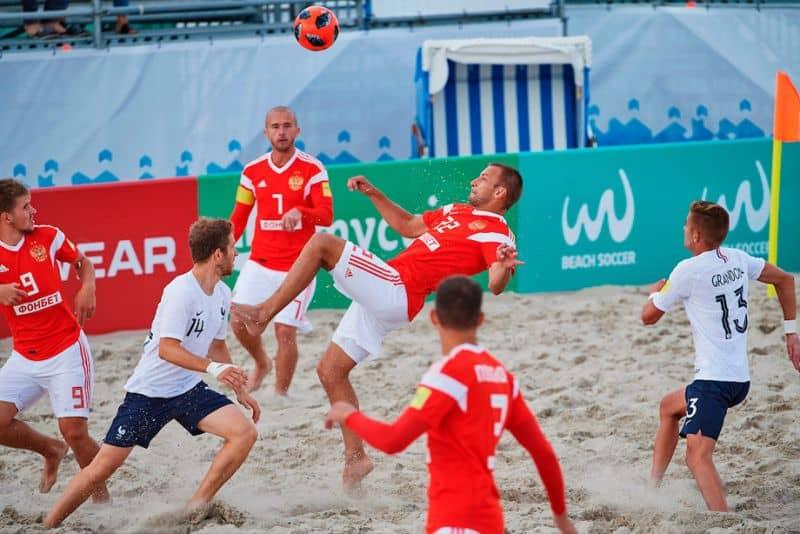 Пляжный футбол Фонбет