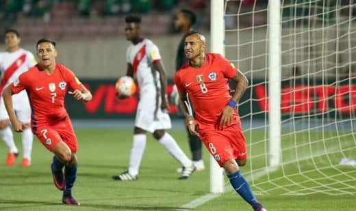 Прогноз на матч Чили – Перу – 04.07.2019, 03:30