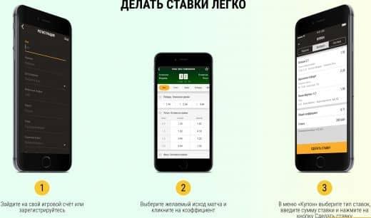 Мобильный беттинг Париматч