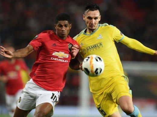 Прогноз на матч Астана – Манчестер Юнайтед - 28.11.2019, 18:50